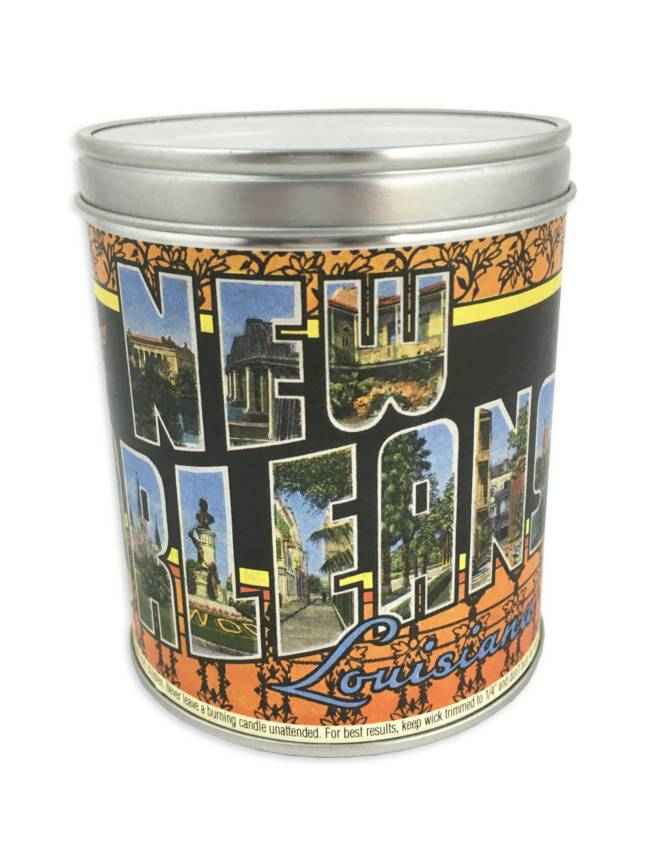 Greetings From New Orleans Candle