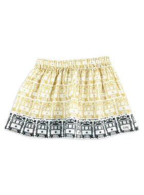 Black & Gold Streetcars Skirt for Kids