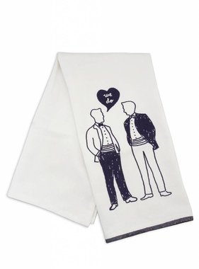 We Do Men Dishtowel
