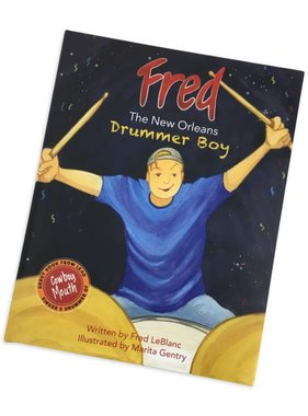 Fred The New Orleans Drummer Boy Book