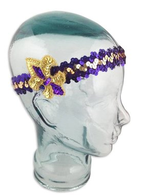 College Flapper Headband