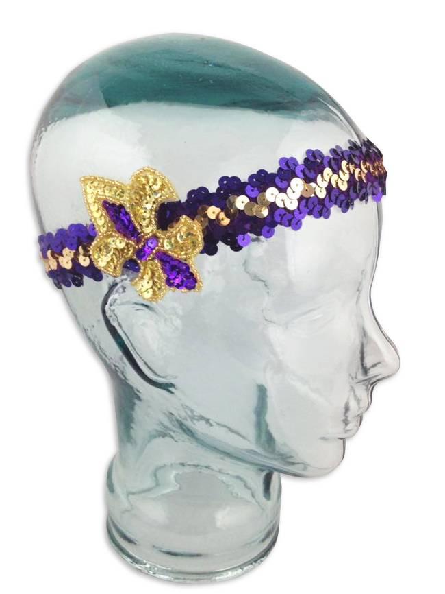 College Flapper Headband