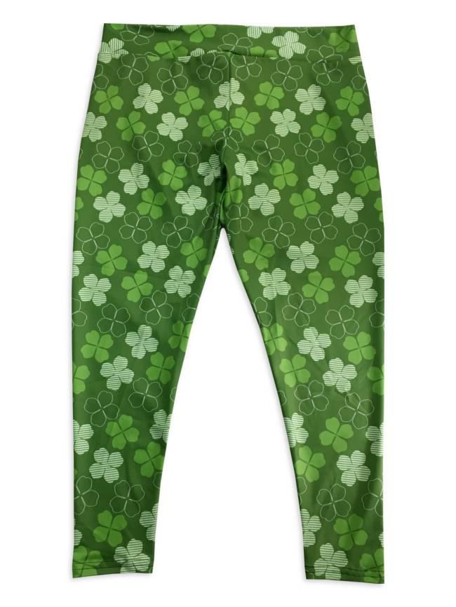 Lucky Clover Yoga Pants