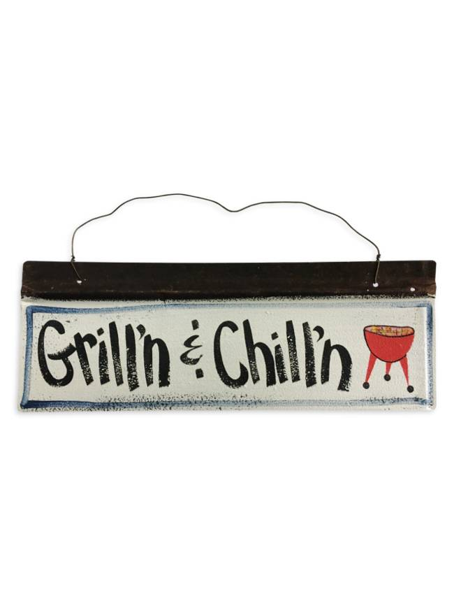 Grill'n & Chill'n Wall Art