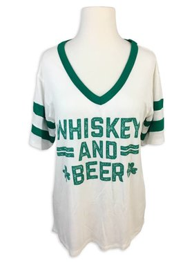 Whiskey and Beer Tee