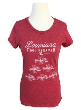 Louisiana Food Pyramid Tee