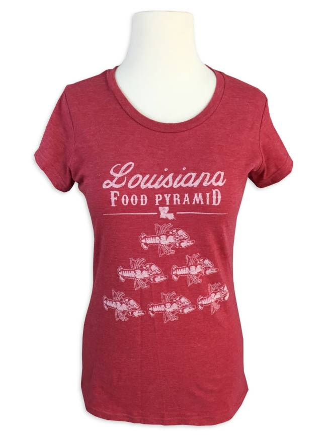 Louisiana Food Pyramid Tee