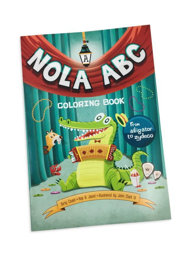 NOLA ABC's Coloring Book