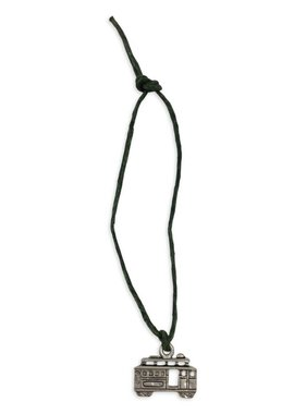 Mini Charm Bracelet, Silver Streetcar