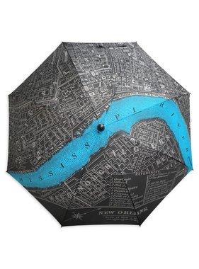 New Orleans Map Golf Umbrella