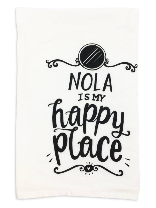 NOLA Is My Happy Place Towel
