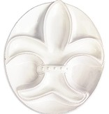 Fleur de Lis Section Platter