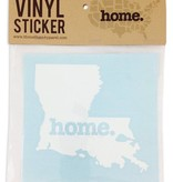 Louisiana Home Vinyl Sticker