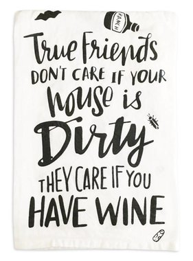 True Friends Tea Towel
