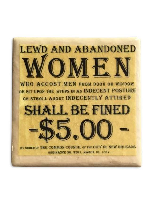 Lewd Women Magnet