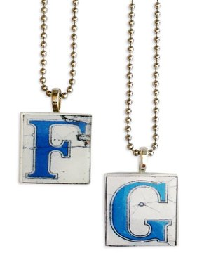 New Orleans Street Tile Necklace