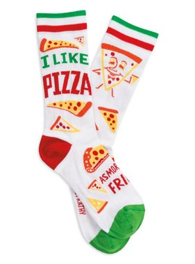 I Like Pizza Socks