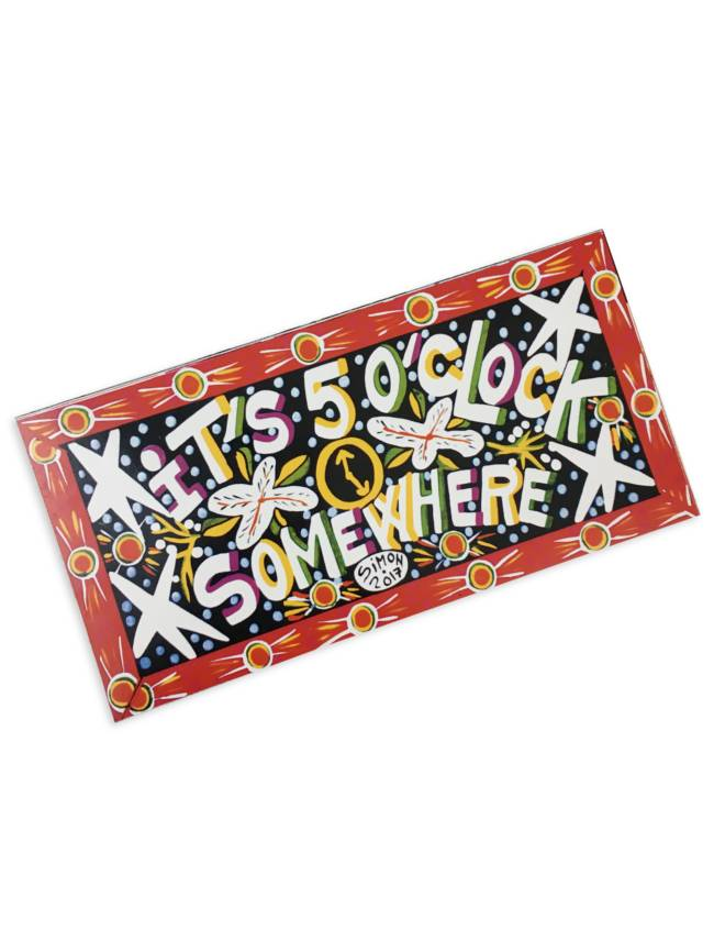 Simon of New Orleans It's 5 O'Clock Somewhere Magnet by Simon