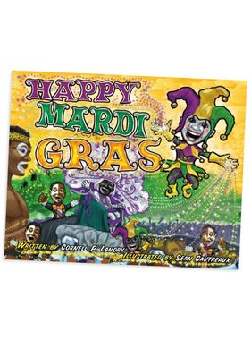 Happy Mardi Gras by Cornell Landry