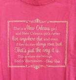 New Orleans Girls Tween Tee