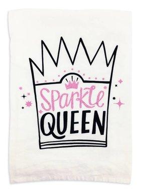 Primitives by Kathy Sparkle Queen Tea Towel