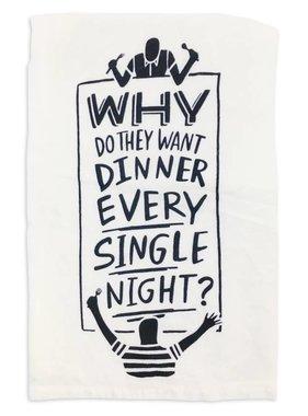 Every Night Tea Towel
