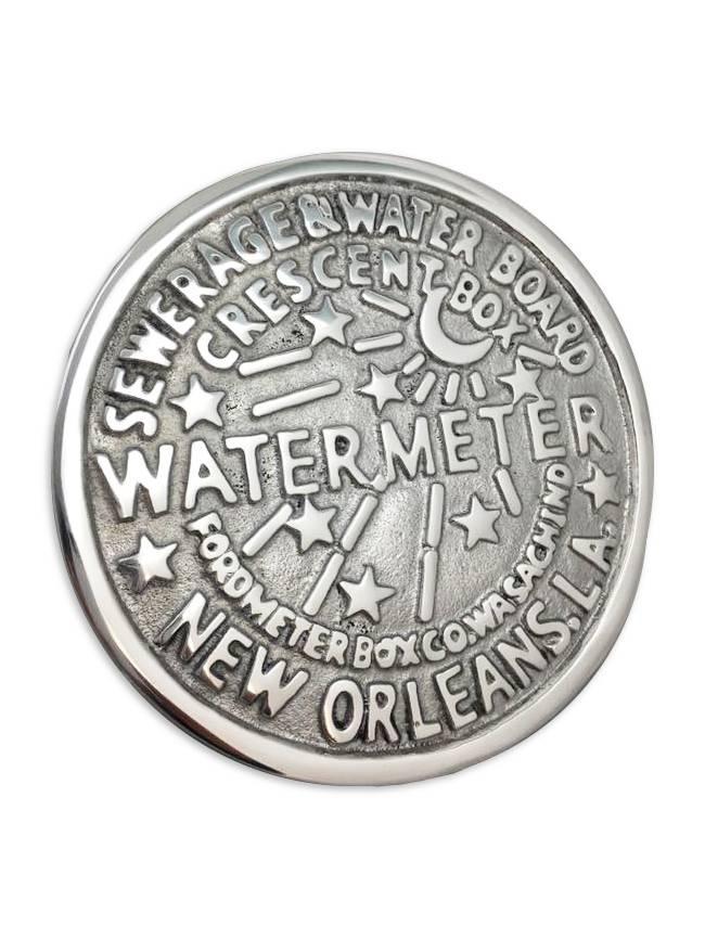 New Orleans Water Meter Trivet