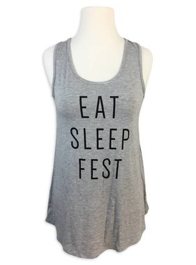 Eat Sleep Fest Tank