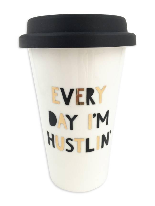 Every Day I'm Hustlin' Thermal Mug