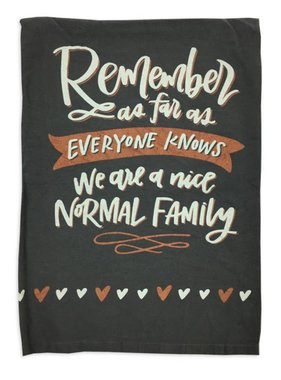 Primitives by Kathy Normal Family Towel
