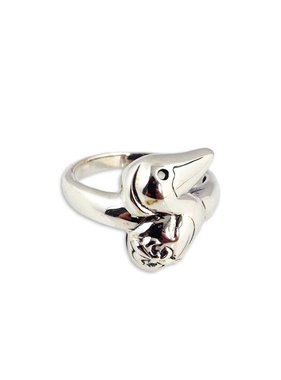 Pelican Ring in Sterling Silver
