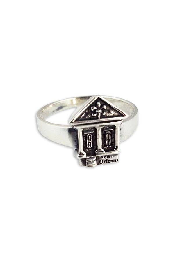 New Orleans Shotgun House Ring