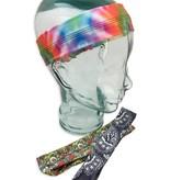 Skip n' Whistle Headband 3 Pack, Bandana-Tie Dye-Trippy