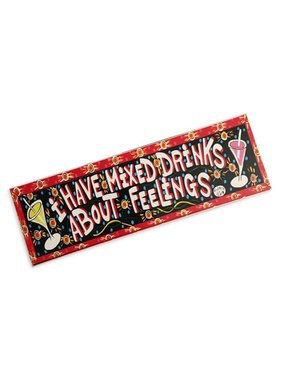 Simon of New Orleans I Have Mixed Drinks About Feelings Magnet