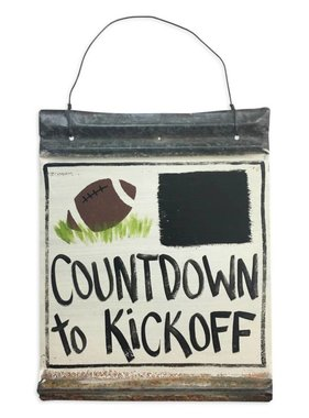 Countdown To Kickoff Wall Art
