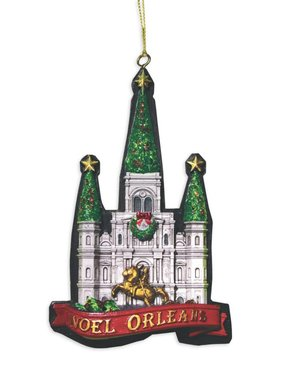 Noel Orleans Cathedral Ornament PRE-ORDER