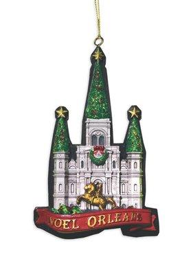 Noel Orleans Cathedral Ornament PRE-ORDER