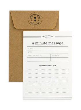 Minute Messages Notecard Set