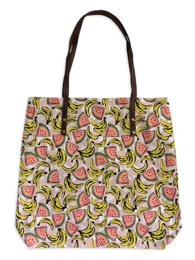 Watermelon Banana Tote