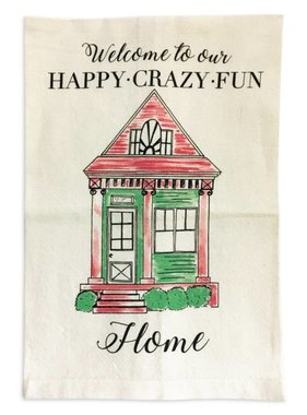 Nola Tawk Happy Crazy Fun Home Towel