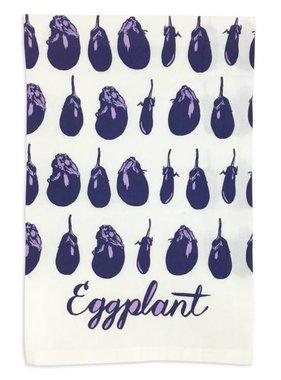 Eggplant Flour Sack Towel