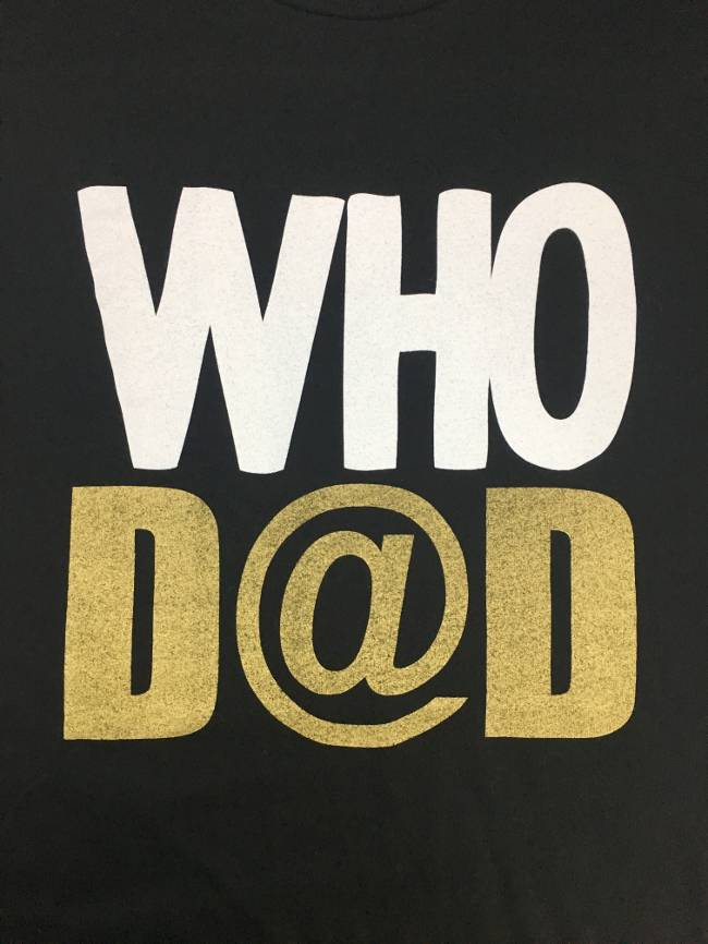 Who Dad Tee