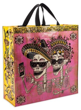 Blue Q Day of the Dead Tote
