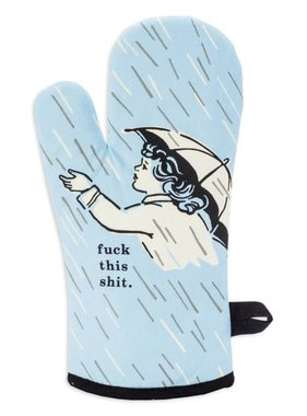 Blue Q Fuck This Shit Oven Mitt