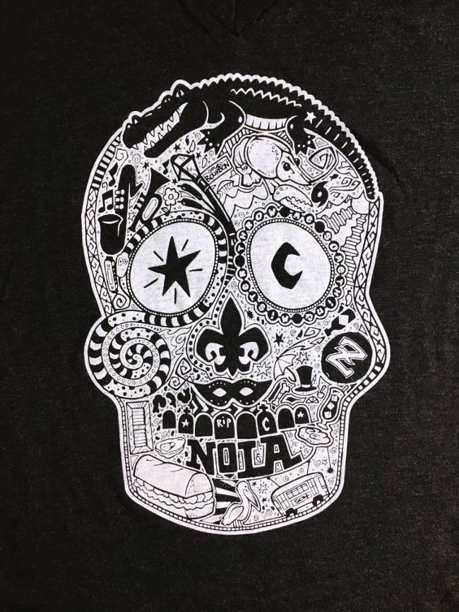 Voodoo Skull Tee