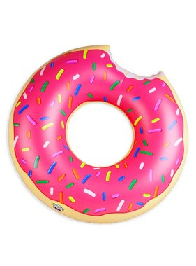 Giant Pink Donut Pool Float