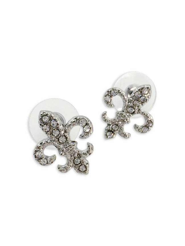 Fleur de Lis Sparkle Earrings