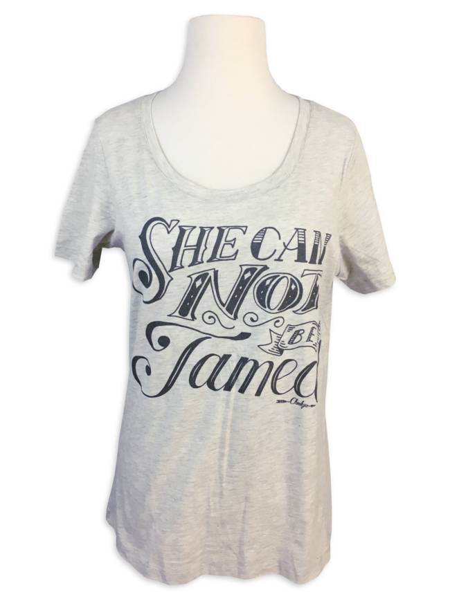Cheeky's She Cannot Be Tamed Tee