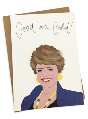 Greeting Card, Good As Gold