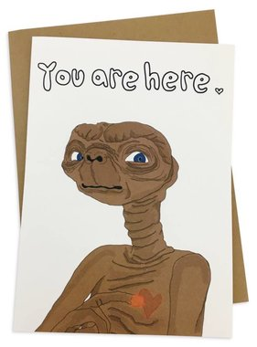 Greeting Card, You Are Here